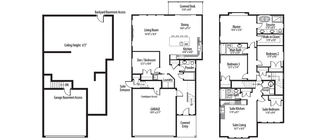 The Nigel Floorplans